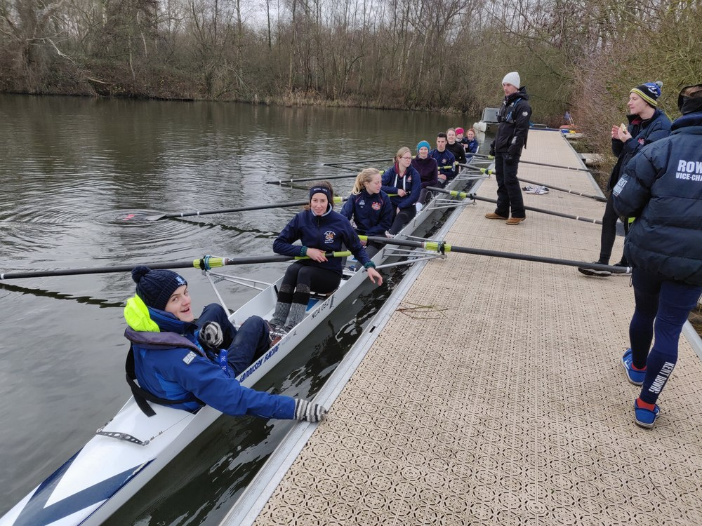 Learn to row or cox with University of Kent Rowing Club